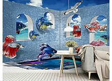mznm Foto Tapete für Wände 3D Wandmalereien Wand