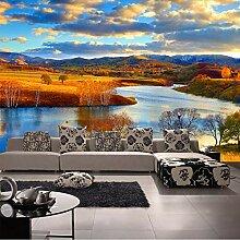 Mznm Fototapete Natur Landschaft Wandbild für