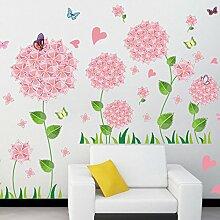 Mznm Rosa Pandora PVC Wand Aufkleber Wohnzimmer