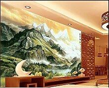 mznm Tapete 3d Wandaufkleber für Wände 3d Schnee