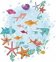 Mznm Unterwasser Starfish Bubble Fish Wc