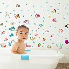 mznm Unterwasserwelt Badezimmer Kinderzimmer Glas