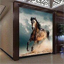mznm Wandbild Pferd Fototapete 3D Wohnzimmer