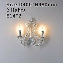 MZXUN. Schlafzimmer Kristallleuchter- Beleuchtung