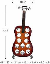 N / A 12 Flaschen Gitarre Weinregal