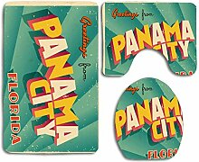 N\A 50S Florida Vintage Touristic Panama Retro