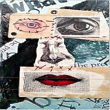 N / A Abstrakte Pastellporträts auf Leinwand des