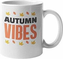 N\A Autumn Vibes Kaffee & Teebecher für die