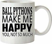 N\A Ball Python Becher - Gut für Geschenke -