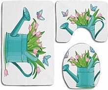 N\A Blumenstrauß Tulpen in Gießkanne mit
