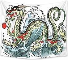 N / A Dekorative Leinwand Malerei Chinese Dragon