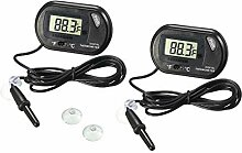 N/A Digitales Aquarium-Thermometer, LCD-Display,