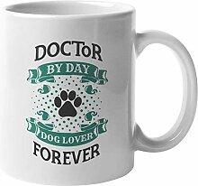 N\A Doctor Dog Lover Kaffee & Teebecher für
