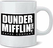 N\A Dunder Mifflin Mug - Doppelseitiger