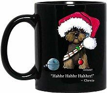 N\A EIN sehr Chewie Weihnachtsbecher