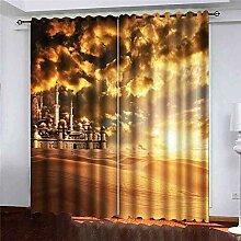 N / A Erker Vorhänge, Tür Fenster Vorhang