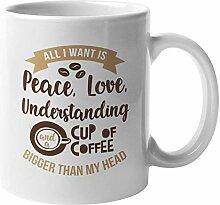 N\A Frieden, Liebe & Verständnis Kaffee &