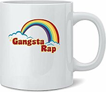 N\A Gangsta Rap Retro Regenbogen lustige Musik