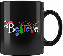 N\A Glauben Sie Weihnachtsbecher für Christen und