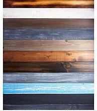 N / A Holzmaserung Tischdecke, Bunte Holzoptik