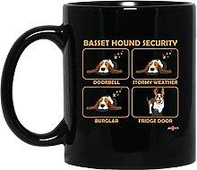 N\A Lustiger Basset Hound Basset Hound Sicherheit