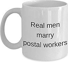 N\A Lustiger Postangestellter 11oz Kaffeebecher -