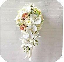N/A Mie Yang Hochzeitsstrauß Wasserfall Hochzeit