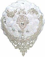 N/A Mie Yang weiße Kristalle Krone Hochzeit