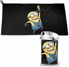 N / A Minions Quick Drying Towel