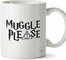N\A Muggel Bitte Bedruckte Becher Tasse Keramik