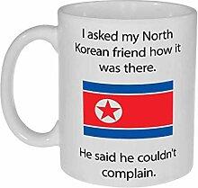 N\A Nordkorea Bedingungen Kaffee oder Teebecher