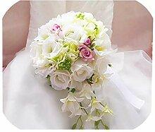 N/A Romantischer Brautstrauß Handhalten