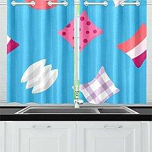 N\A Sofa kleines Kissen Bequeme Küchenvorhänge