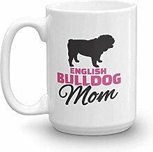 N\A ulldogge Becher Englisch Bulldogge Tassen