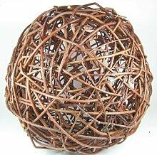 N/A Weidenkugel 40cm Natur Rebenkugel Weidenball