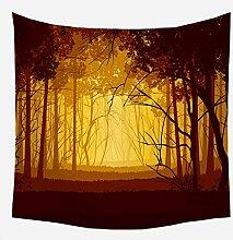 n Alpaka Coconut Tree Tapisserie Wandbehänge