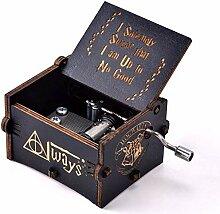 N-N Neuartige Handkurbel-Spieluhr für Harry
