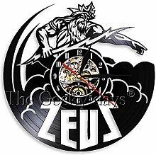 N-P Zeus Vinyl Records Tischuhr übertroffen Alte
