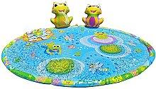 N/S Sprinklerauflage Froggy Pond Planschmatte