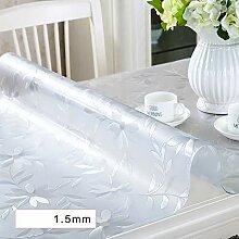 N-Tao-G Transparente PVC Tischdecke Gedruckt