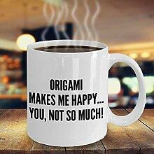 NA Lustige Origami Kaffeetasse Sexy Origami