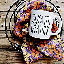 NA Rae Dunn inspiriert Pullover Wetter Becher