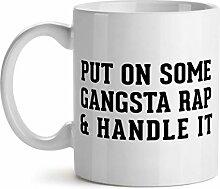 NA Setzen Sie etwas Gangsta Rap auf und behandeln