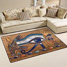 naanle Ägyptische Horus Eye rutschfeste Bereich