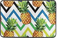 Naanle Ananas Nahtlose Muster Eingang Fußmatte