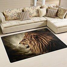 naanle Brüllender Löwe rutschfeste Bereich