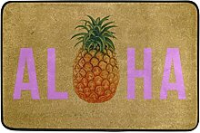 Naanle Eingang Fußmatte Aloha Ananas