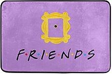 Naanle Eingang Fußmatte Friends TV Show-Karte