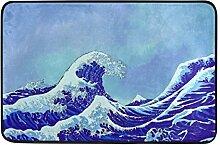 Naanle Japanische Sea Waves mit Blue Sky Eingang