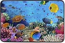 Naanle Marine Life Eingang Decor-Fußmatte Teppich